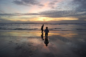 """""""Two Kids and the Sea"""" by Kevin Krejci is licensed under CC BY 2.0"""