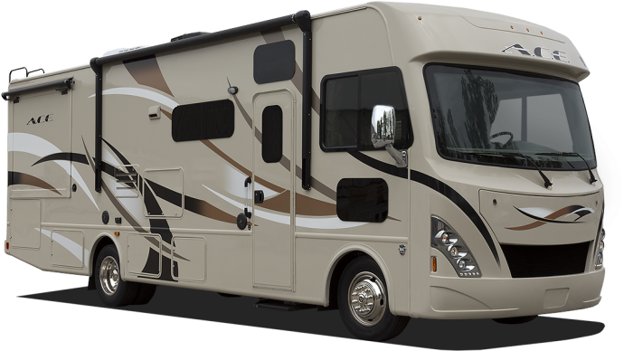 A C E Class A Motorhomes Made To Fit Your Family Blue