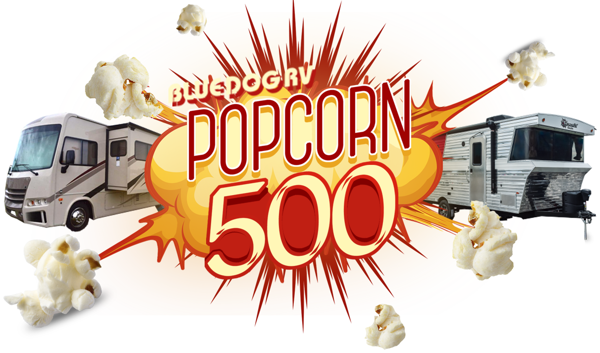 Blue Dog RV Popcorn 500 Red
