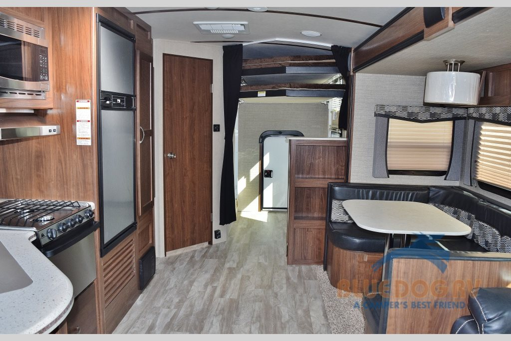 Dutchmen Aerolite Travel Trailers Zero Gravity Interior