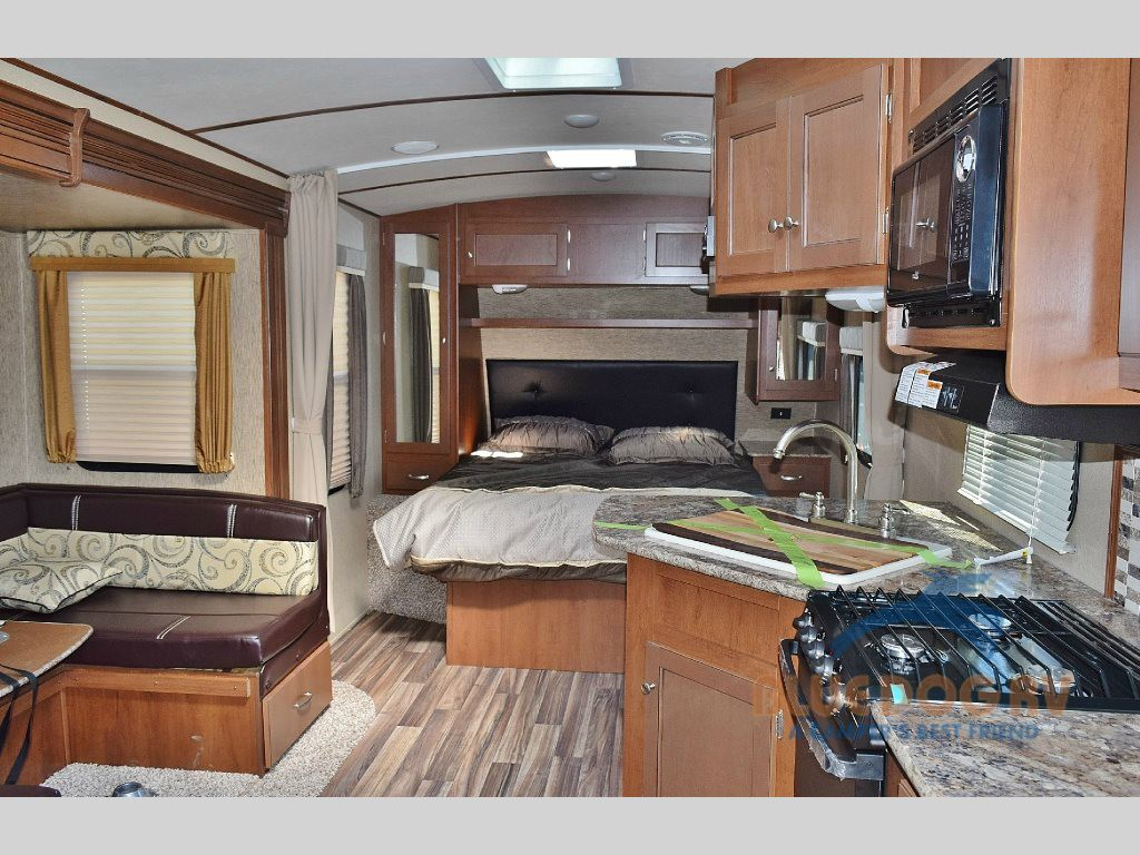 Dutchmen Denali Travel Trailers Interior at Blue Dog RV