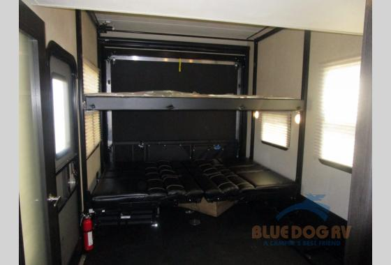 Dutchmen Voltage Fifth Wheel Toy Hauler Garage Beds