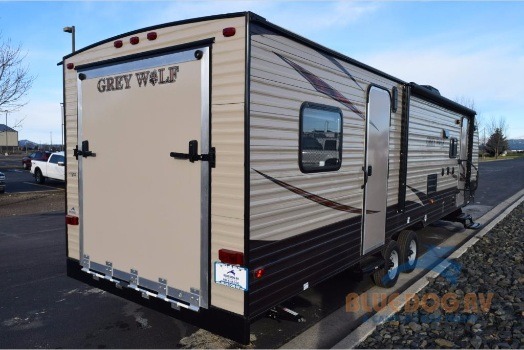 Forest River Cherokee Grey Wolf Toy Hauler Travel Trailer