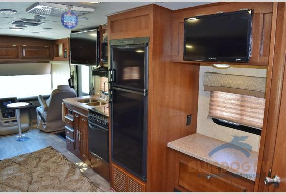 Forest River Georgetown Class A Motorhome 3 Series Kitchen