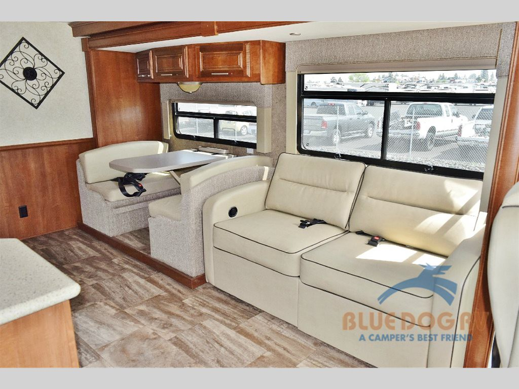 Forest River Georgetown Class A Motorhome Living Area