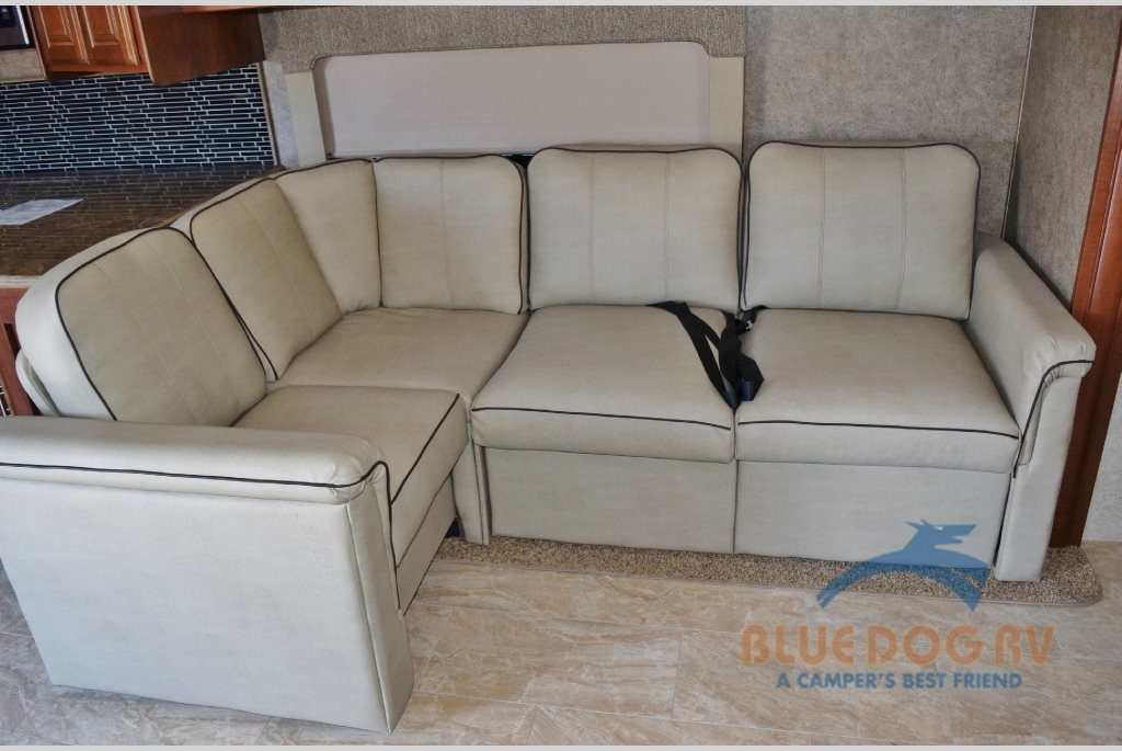 Forest River Georgetown XL Class A Motorhome L-Shaped Couch