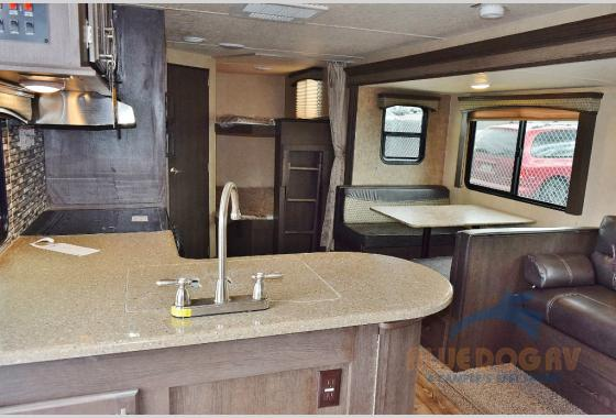 Forest River Sonoma Explorer Edition Travel Trailer Bunkhouse Interior
