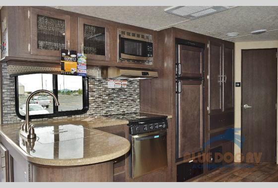 Forest River Sonoma Explorer Edition Travel Trailer Kitchen