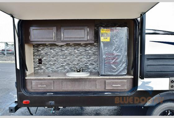 Forest River Sonoma Explorer Edition Travel Trailer Outside Kitchen