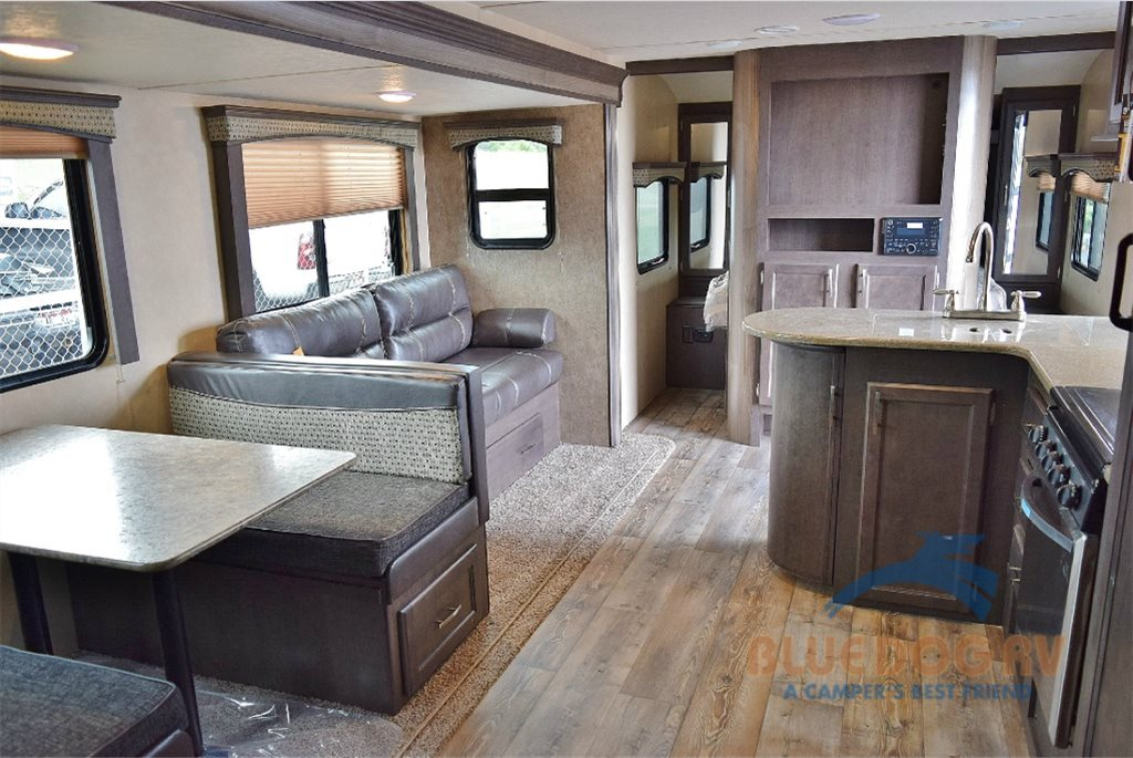 Forest River Sonoma Travel Trailer Living Area