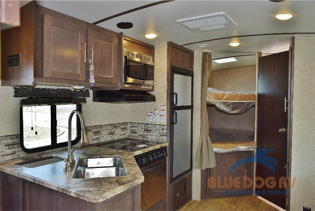 Forest River Surveyor Travel Trailer Interior