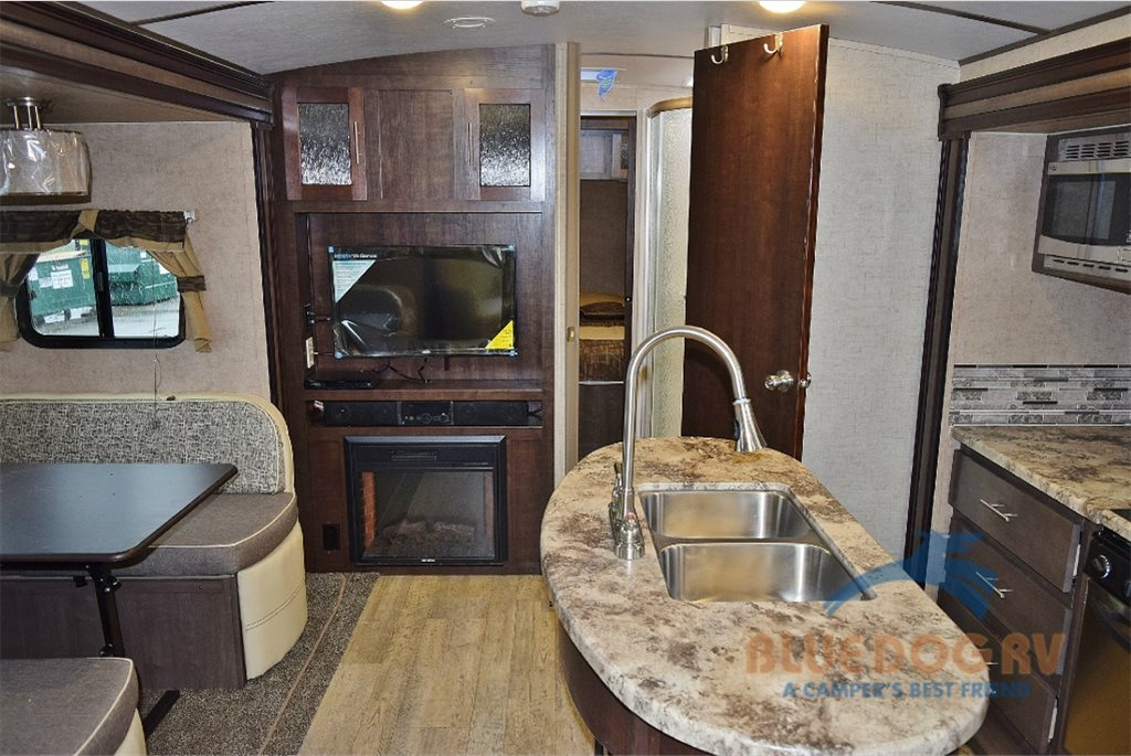 Forest River Surveyor Travel Trailer Living Area