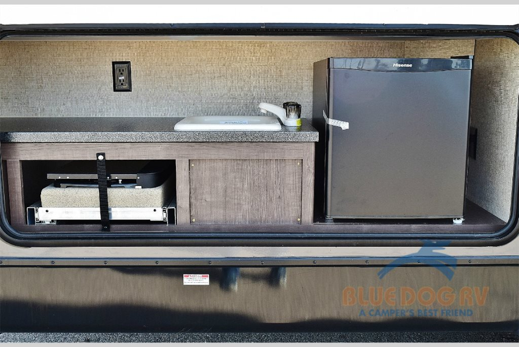 Forest River Surveyor Travel Trailer Outdorr Kitchen