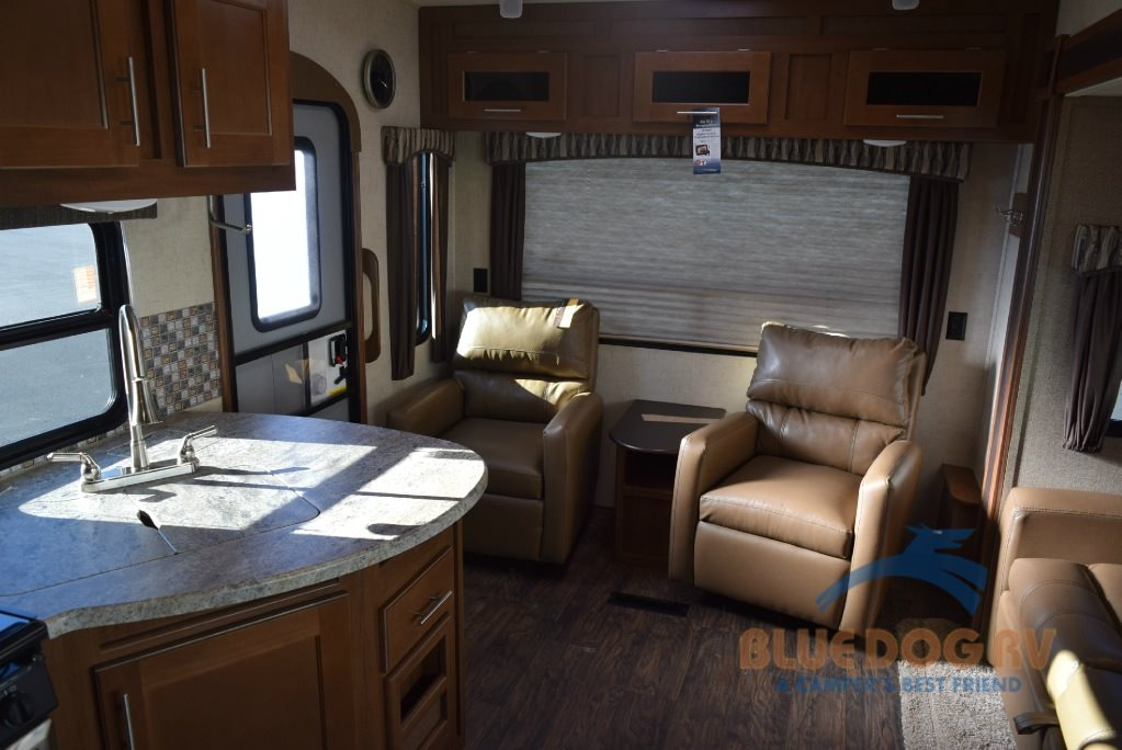 Forest River Wildcat Maxx Fifth Wheel RV Rear Living