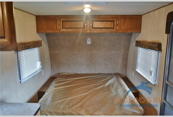 Forest River Wildwood X-Lite Travel TRailer Bed
