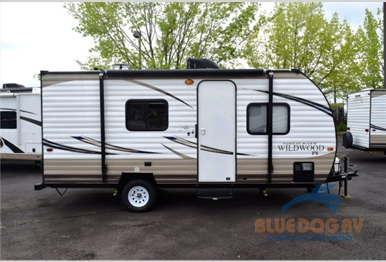 Forest River Wildwood X-Lite Travel TRailer Side