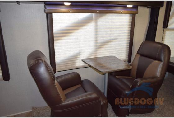 Genesis Supreme Fifth Wheel Toy Hauler Seating