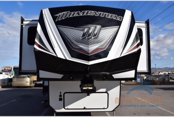 Grand Design Momentum Fifth Wheel Toy Hauler front
