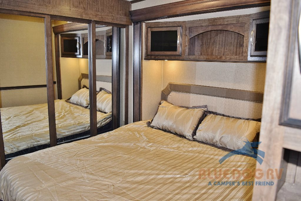 Grand Design Solitude 379FL Front Living Fifth Wheel Bedroom