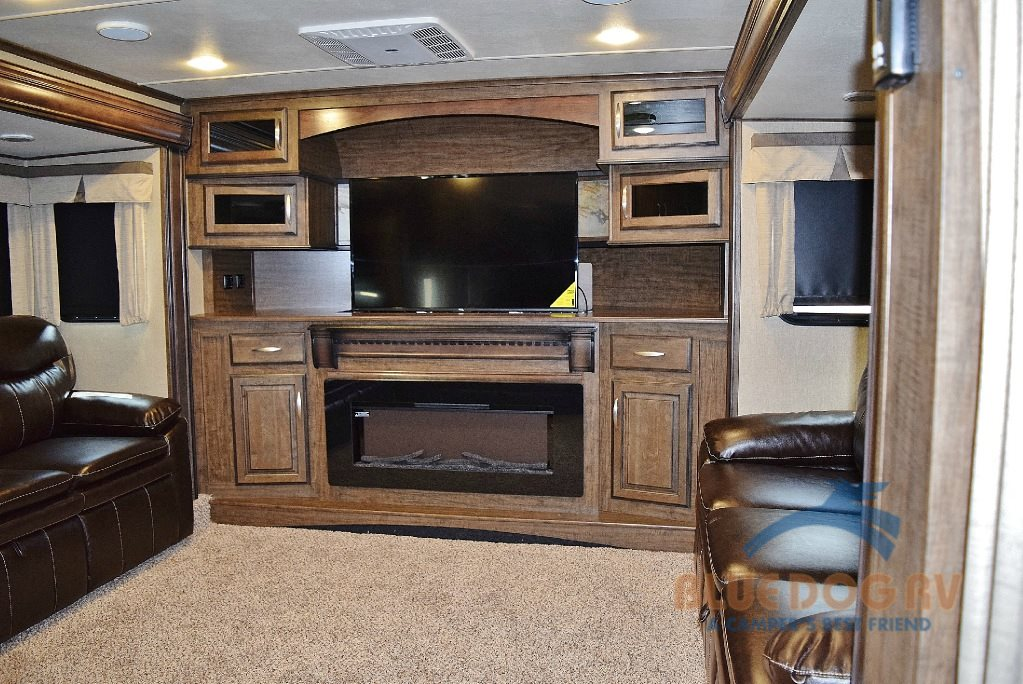 Grand Design Solitude 379FL Front Living Fifth Wheel Living Area
