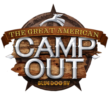 Great American Campout RV Sale Logo