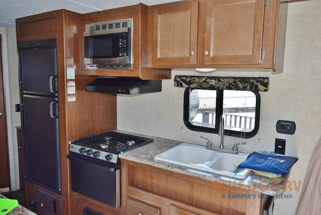 Hideout Trailer kitchen