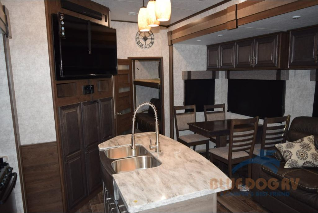 Highland Ridge Open Range Bunkhouse Fifth Wheel Interior