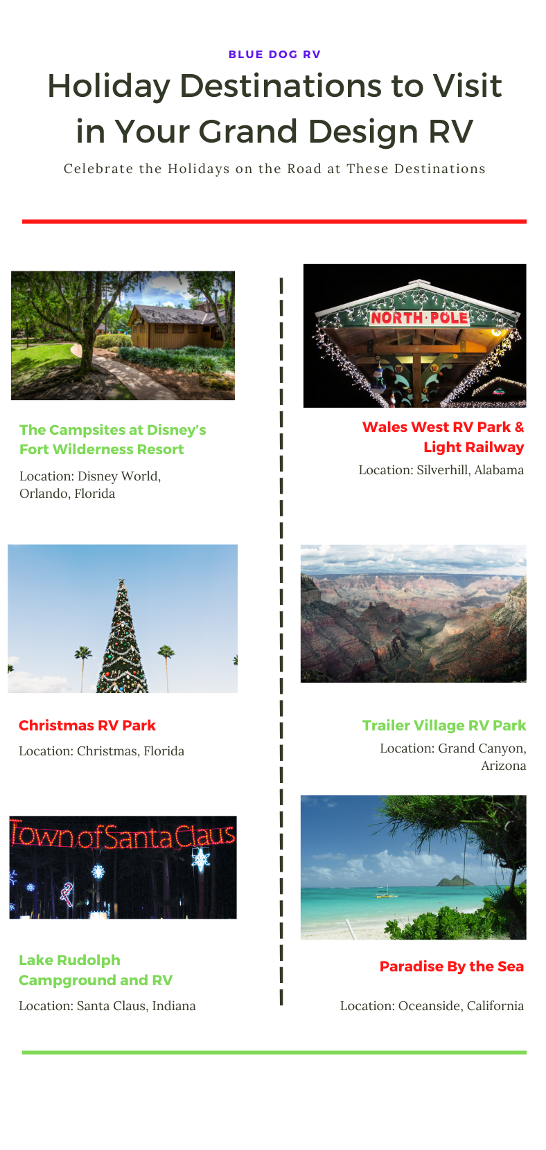 Celebrate the Holidays on the Road at These Destinations