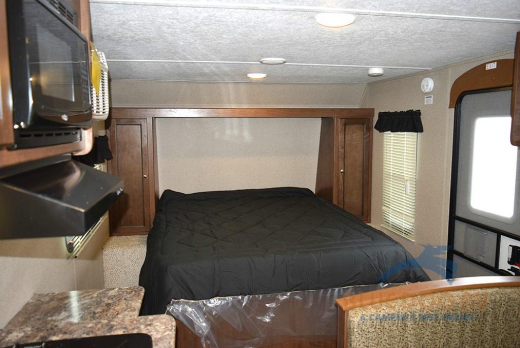 Keystone Hideout Single Axle Travel Trailer Bedroom