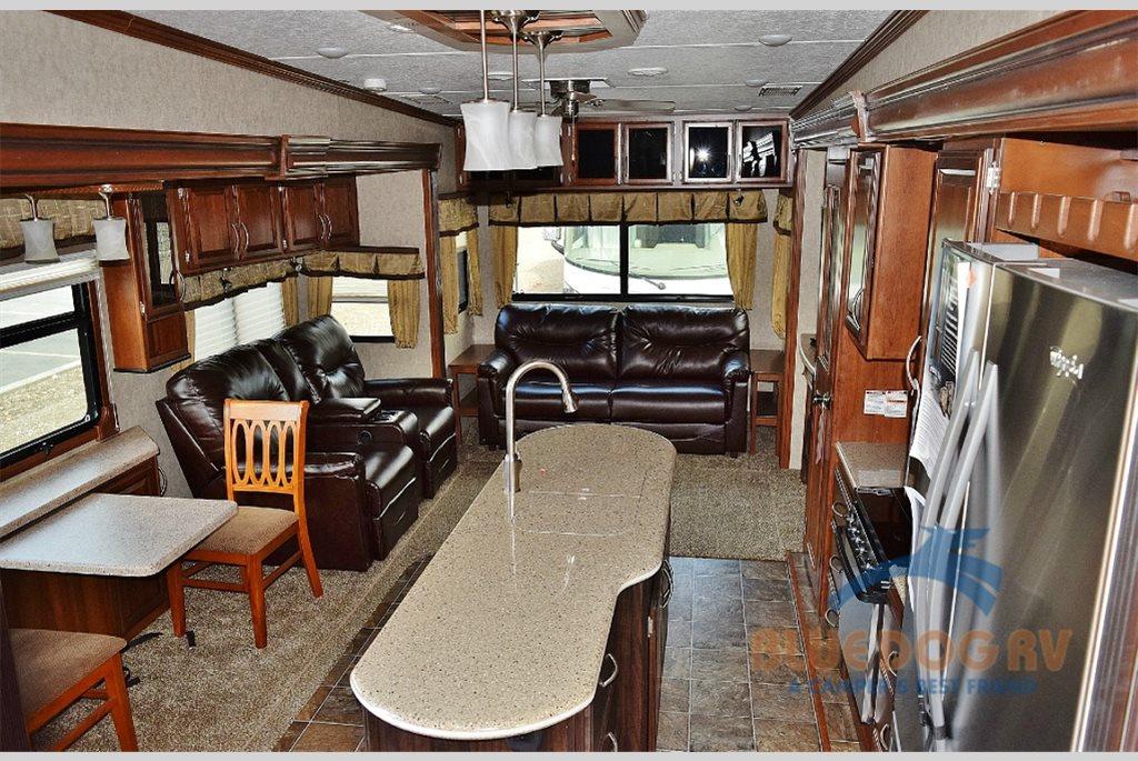 Prime Time Sanibel Fifth Wheel Living Area