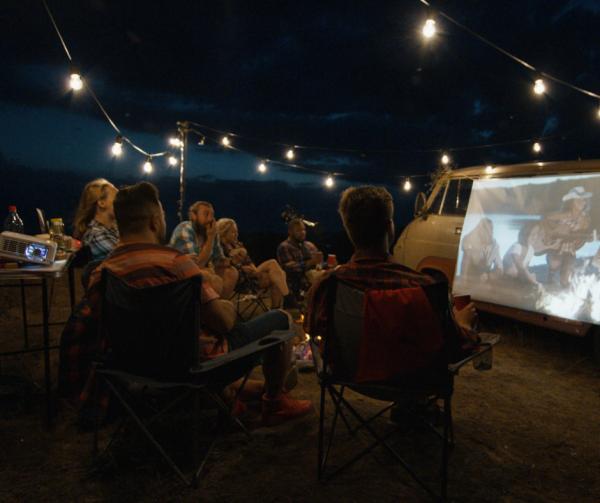 RV Outdoor Movie