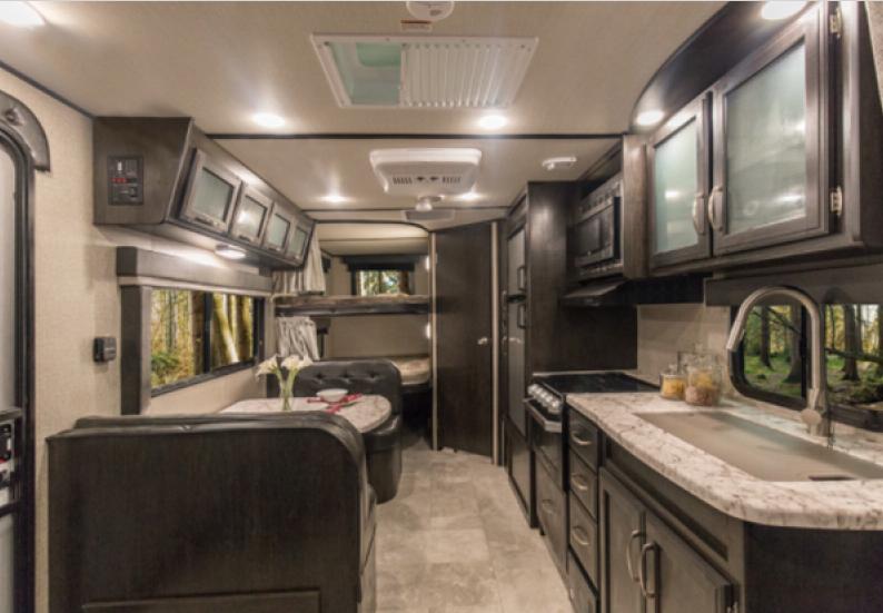 kitchen imagine travel trailer