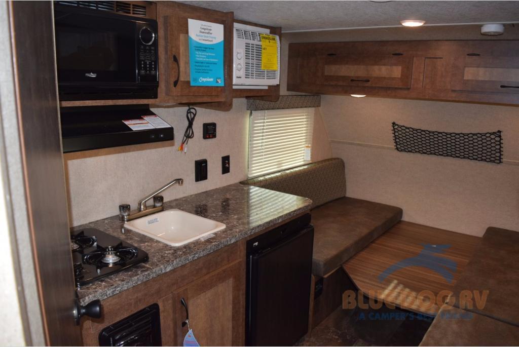 Starcraft Autumn Ridge Mini Travel Trailer Rear Bed