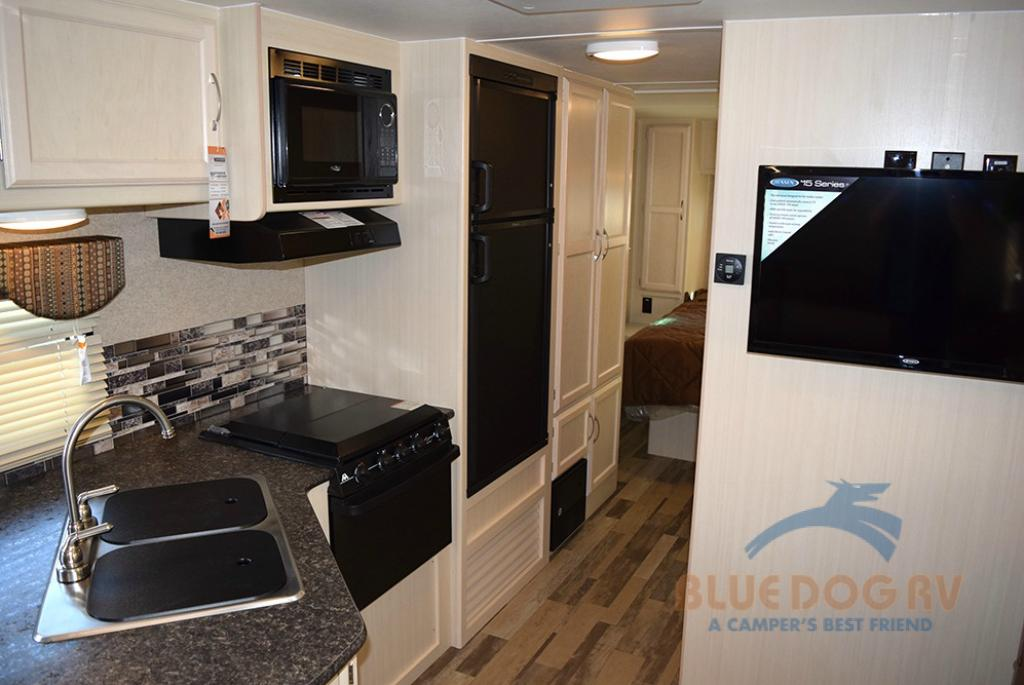 Winnebago Minnie Travel Trailer Kitchen