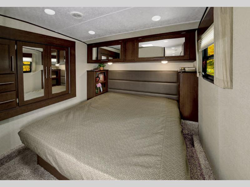 impression 5th wheel bedroom