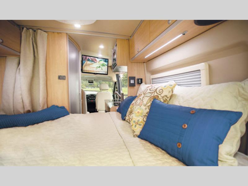 aktiv class b motorhome bed