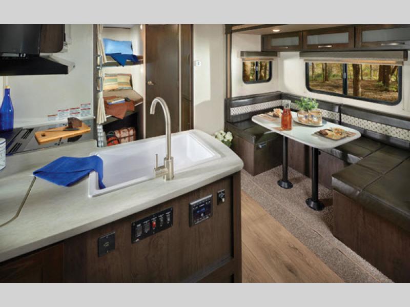 surveyor travel trailer kitchen
