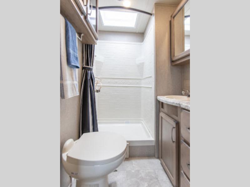 transcend travel trailer bedroom