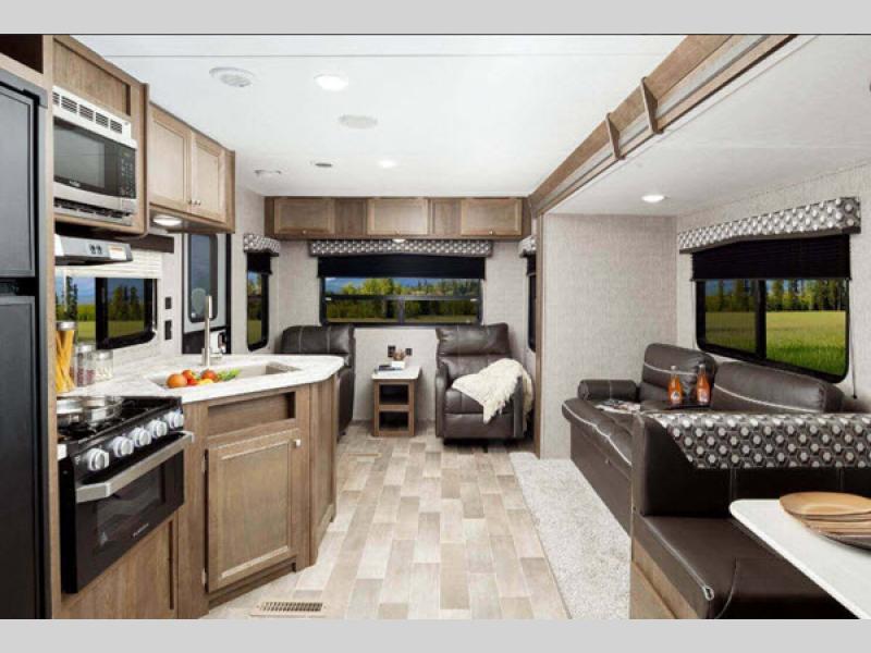 living room lantern travel trailer