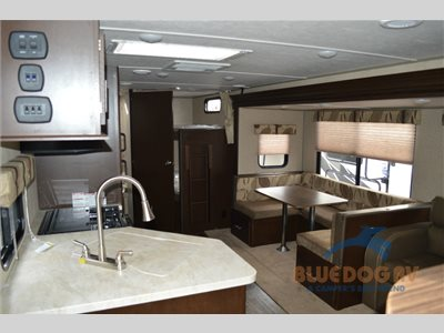 Interior Cherokee travel trailer