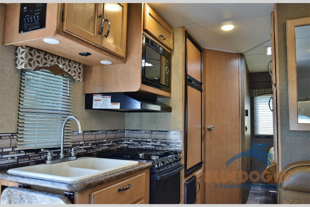 Thor Motor Coach Four Winds Class C Kitchen