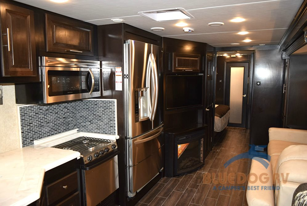 Forest River Georgetown XL Class A Motorhome  Kitchen
