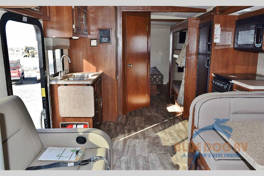 Georgetown Series 3 31B3 Class A Motorhome Interior