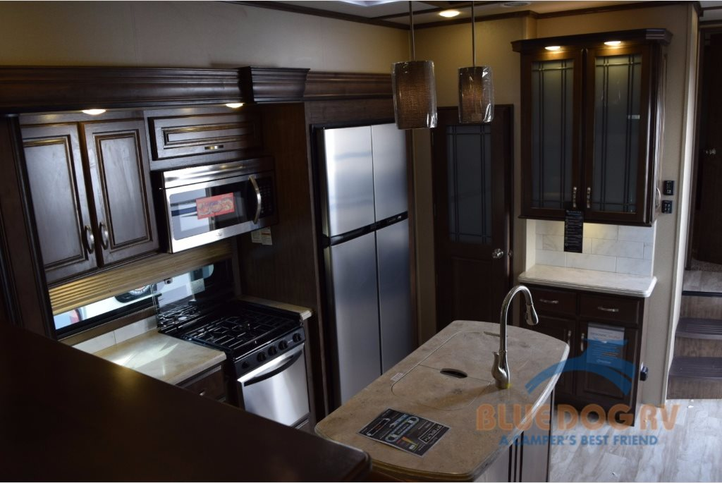 Grand Design Solitude Fifth Wheel Kitchen