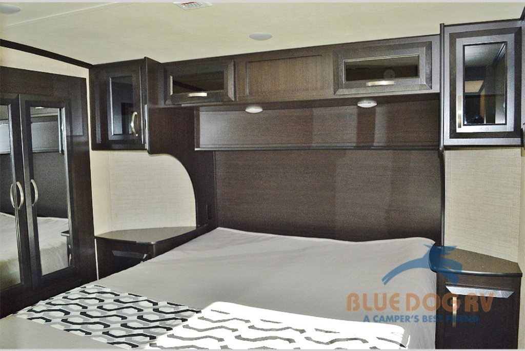 Dutchmen Triton Toy Hauler Fifth Wheel Master Bedroom