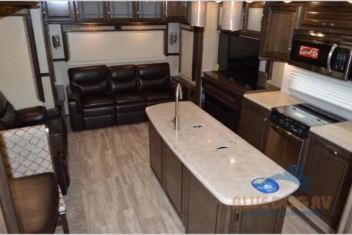 Grand Design Solitude 310GK Fifth Wheel Interior