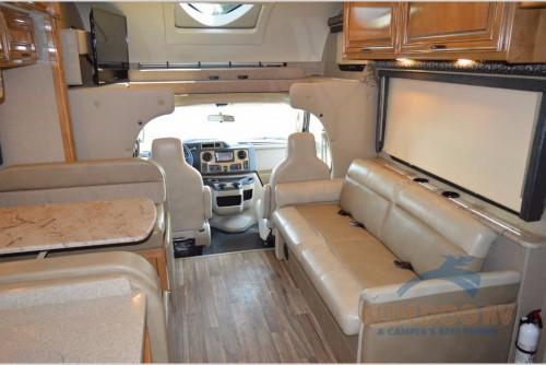 Thor Motor Coach Quantum Class C Motorhome Interior