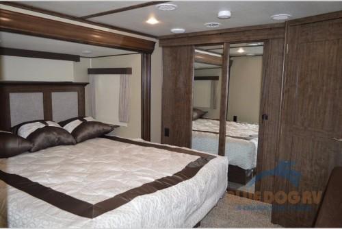 Grand Design Solitude 310GK Fifth Wheel Bedroom